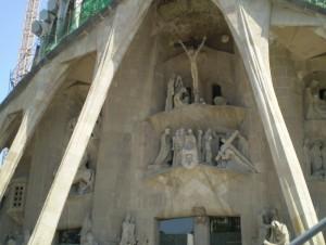 Nochmal in der Sagrada Familia