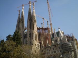Los geht´s mit der Sagrada Familia