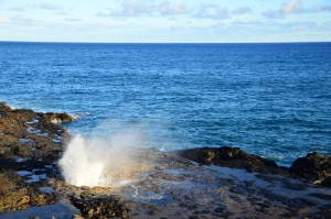 Spouting Horn/Kauai
